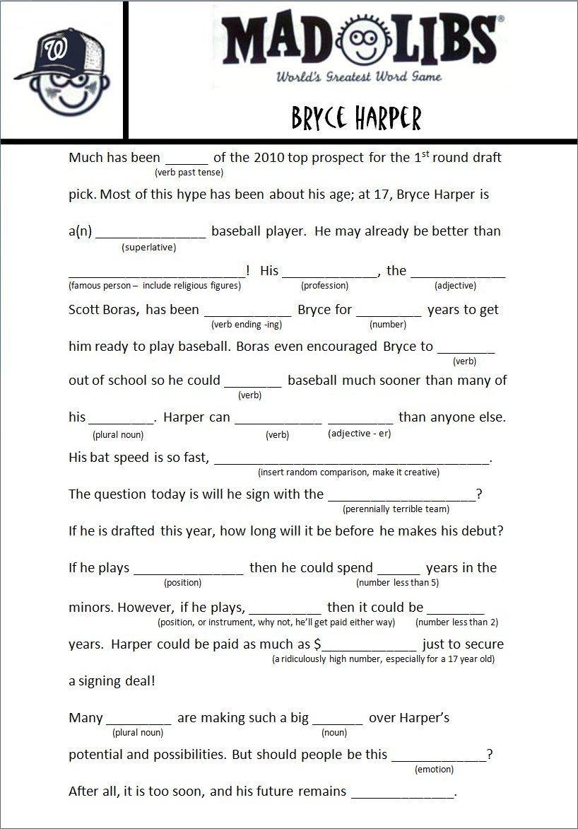 Image Result For Free Adult Mad Libs Funny | Job Related | Mad Libs - Free Printable Mad Libs For Middle School Students
