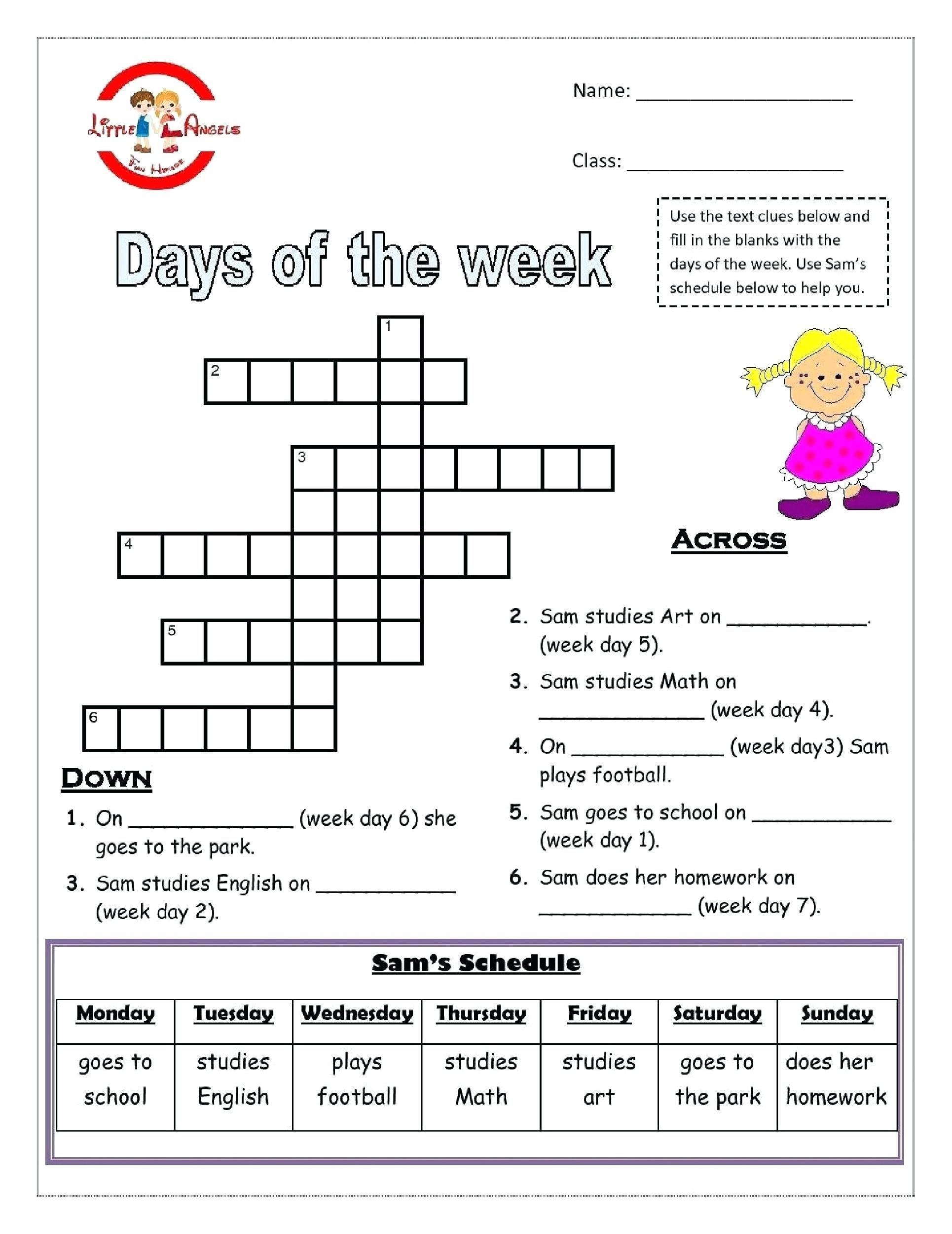 Image Result For Free Esl Printable Worksheets Grade 4 | Hjj - Free Printable English Lessons