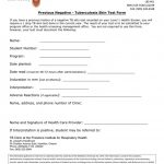Interview Questionnaire Form Alternative Knowledge Worker   Free Printable Tb Test Form