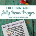 Jelly Bean Prayer Free Printable | As Seen On Thatswhatchesaid   Free Printable Easter Sermons