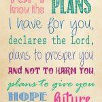 Jeremiah 29 11 Printable | True Aim   Jeremiah 29 11 Free Printable