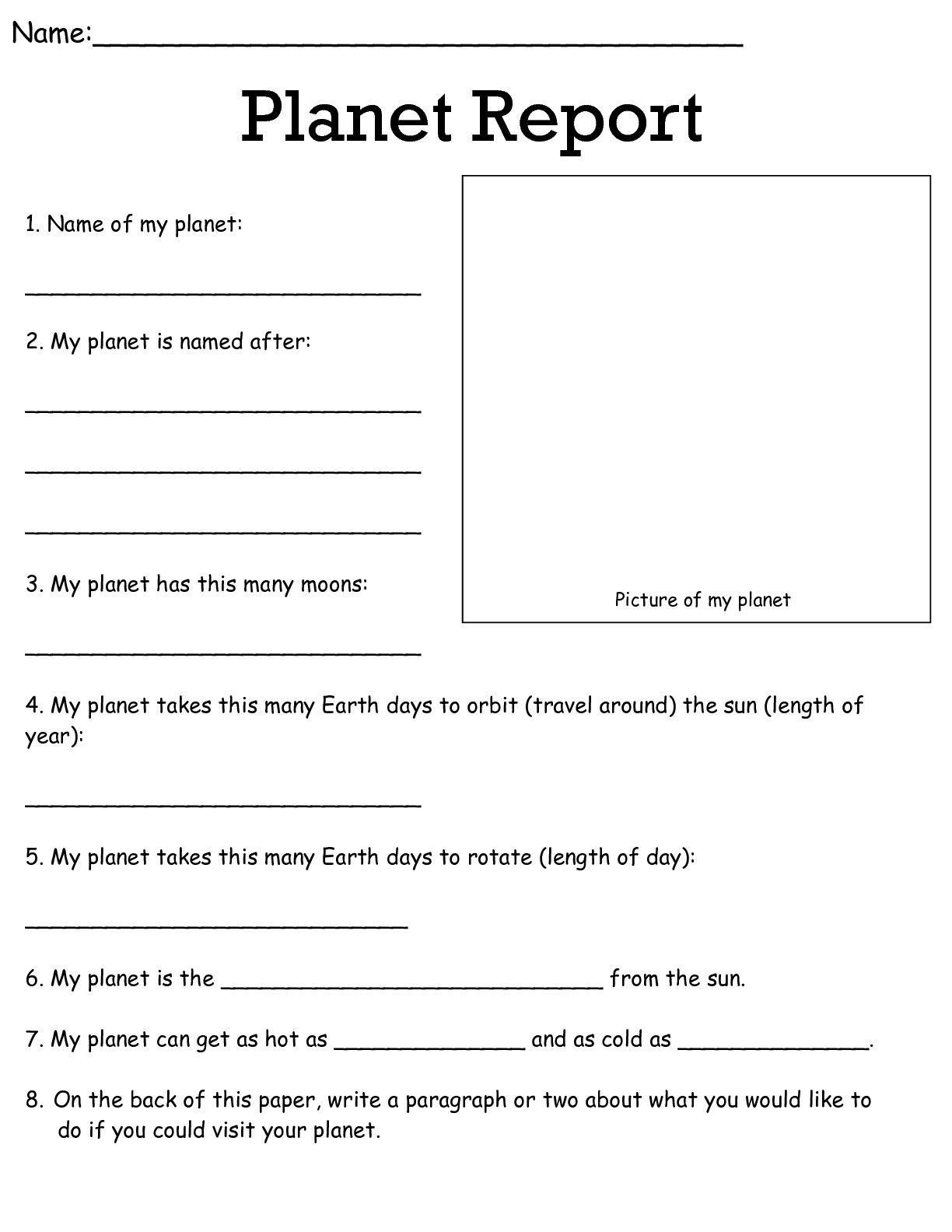 Job Worksheets 5Th &6Th | Science Worksheets Science Worksheets - 6Th Grade Writing Worksheets Printable Free