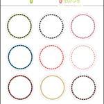 Kate: Free Digital Cupcake Pick Topper Template   Printables   40Th   Free Printable Cupcake Toppers Bridal Shower