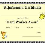 Kids Award Certificate Template   Kaza.psstech.co   Free Printable Swimming Certificates For Kids