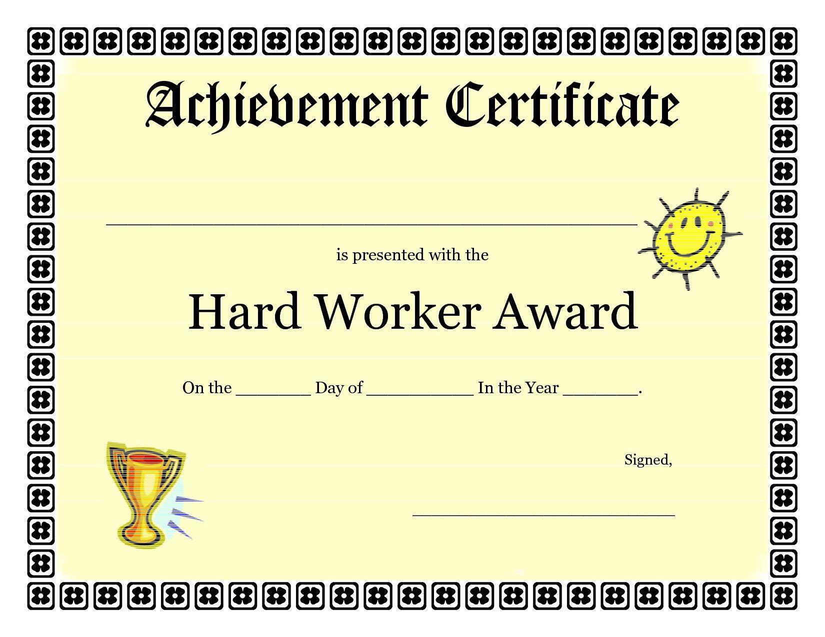 Kids Award Certificate Template - Kaza.psstech.co - Free Printable Swimming Certificates For Kids
