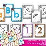 Kindergarten Alphabet Cards | Free Printable Alphabet Mini Flash   Free Printable Lower Case Letters Flashcards