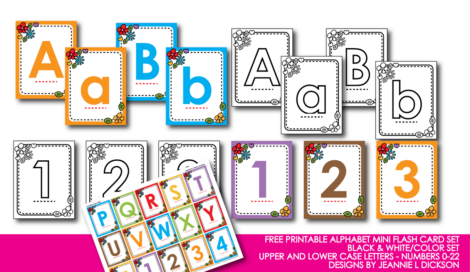 Kindergarten Alphabet Cards | Free Printable Alphabet Mini Flash - Free Printable Lower Case Letters Flashcards