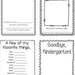 Kindergarten Memory Book | Kindergartenklub | Kindergarten   Free Printable Preschool Memory Book