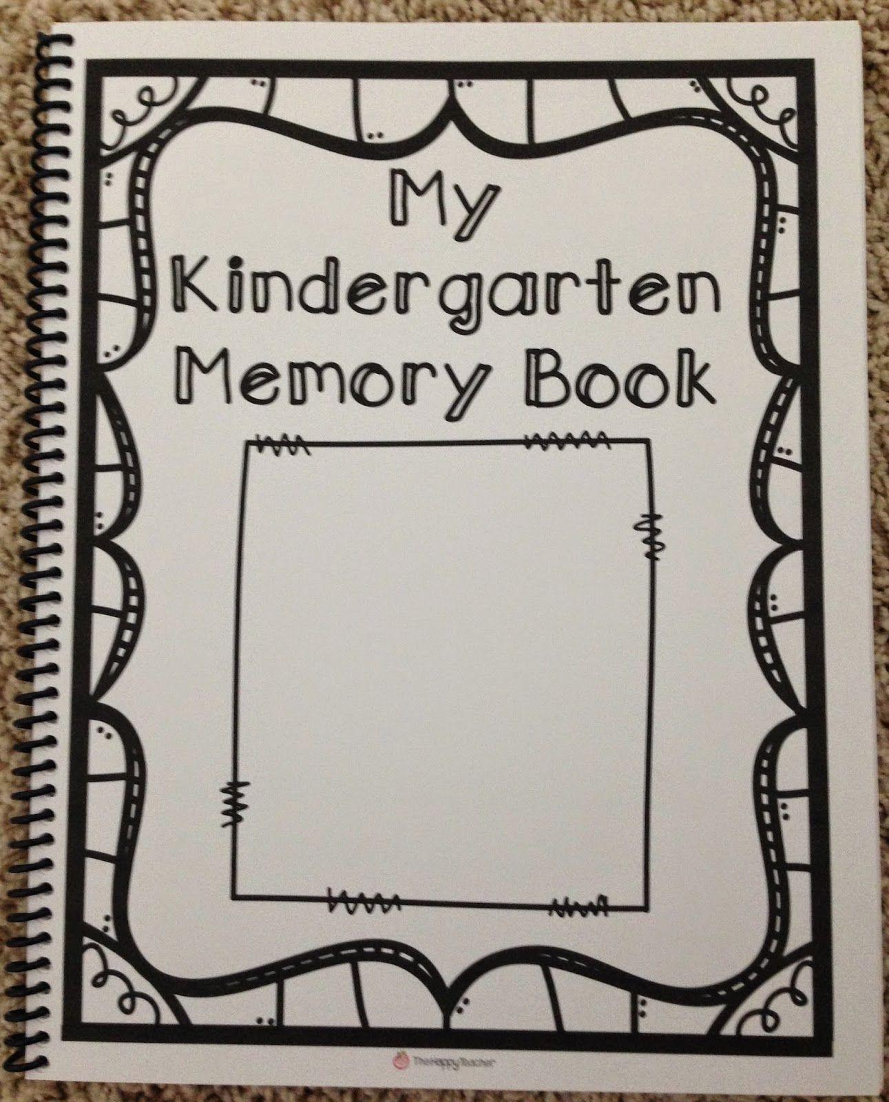 Kindergarten Memory Book | Kindergartenklub | Preschool Memory - Free Printable Preschool Memory Book