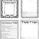 Kindergarten Memory Book | Thehappyteacher   Free Printable Preschool Memory Book