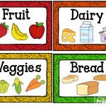 Kitchen Dramatic Play Center | Centers | Dramatic Play Centers   Free Printable Play Food Labels