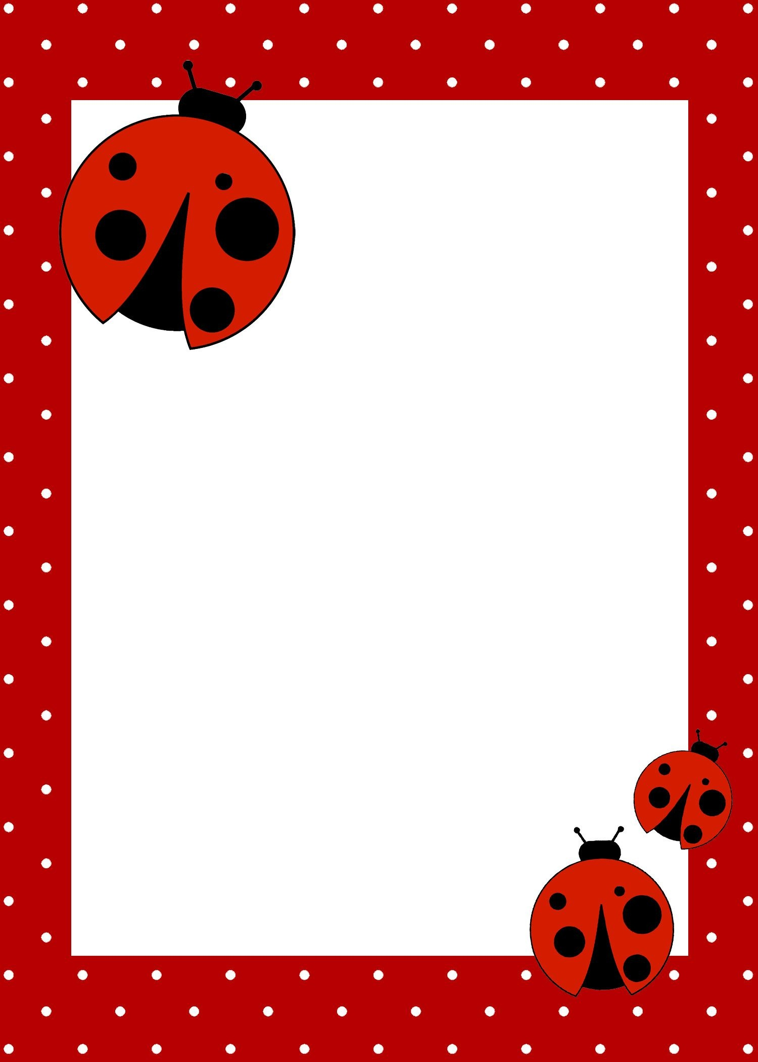 Ladybug Birthday Party With Free Printables | Lienky | Ladybug - Free Printable Ladybug Invitations