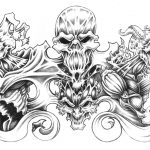 Large Free Printable Tattoo Designs | Best Quarter Sleeve Tattoo   Free Printable Tattoo Designs