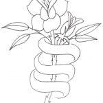 Large Free Printable Tattoo Designs | Tattoo Design,rose With Ribbon   Free Printable Tattoo Designs