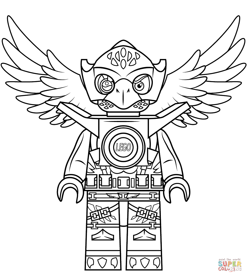 Lego Chima Eagle Eris Coloring Page | Free Printable Coloring Pages - Free Printable Lego Chima Coloring Pages