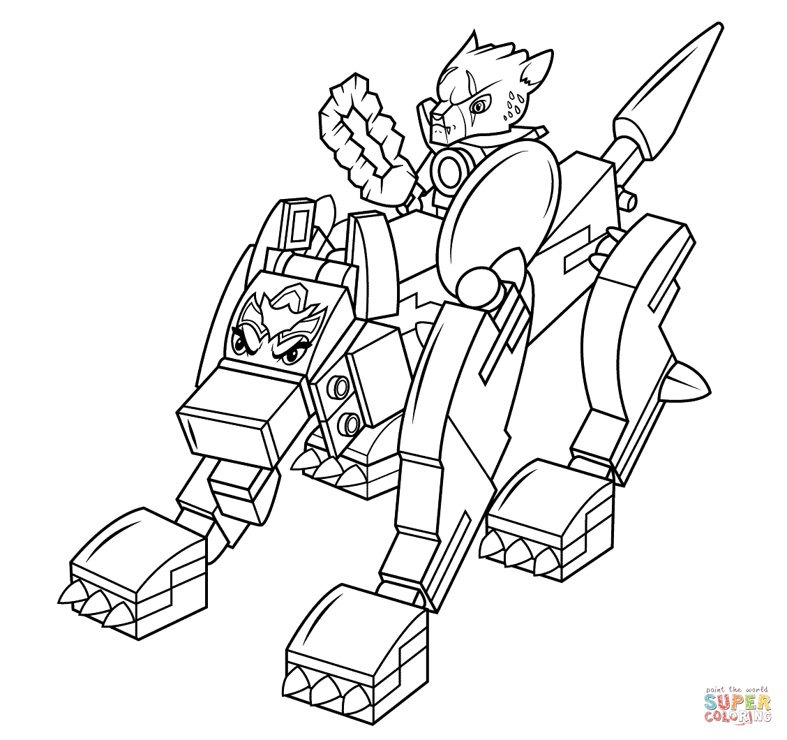 Lego Chima Wolf Coloring Page | Free Printable Coloring Pages - Free Printable Lego Chima Coloring Pages