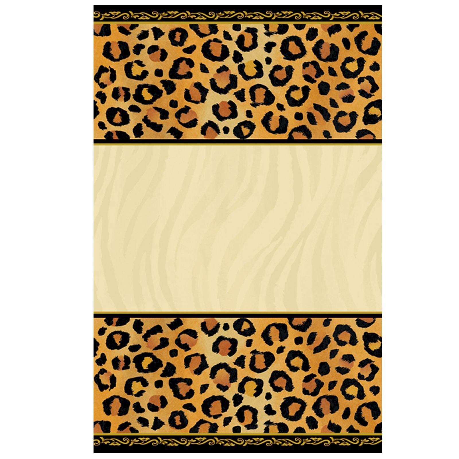 Leopard Print Invitations Printable Free Cakepins   Printables - Free Printable Animal Print Birthday Invitations