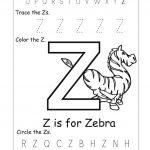 Letter Z Worksheets Printable | Reading // Sight Words   Letter Z Worksheets Free Printable