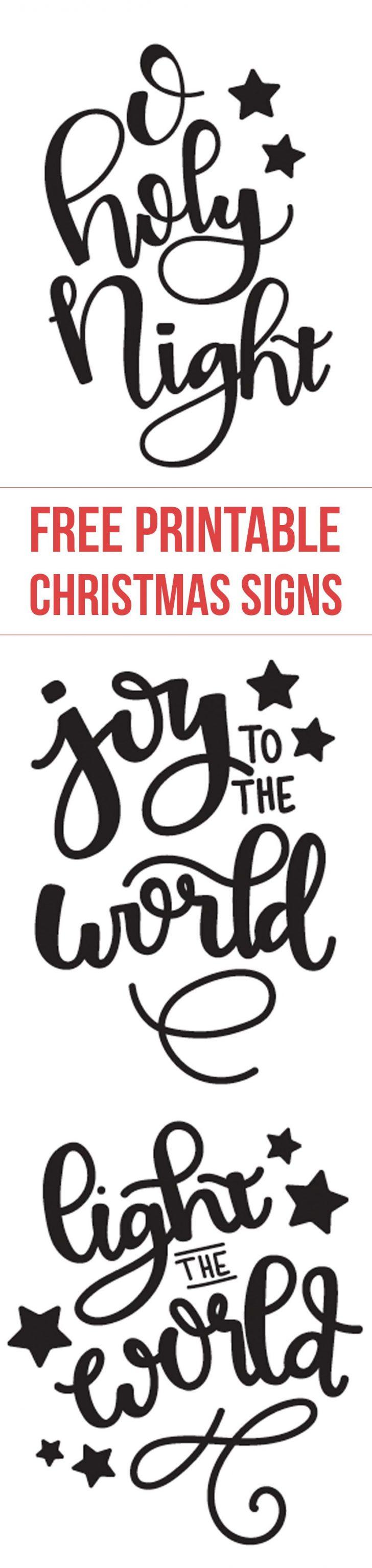 Free Printable Christmas Designs