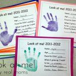Look At Me With Free Printable   Simply Real Moms   Free Printable Preschool Memory Book
