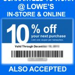 Lowes Coupons 20 / Wcco Dining Out Deals   Lowes Coupons 20 Free Printable