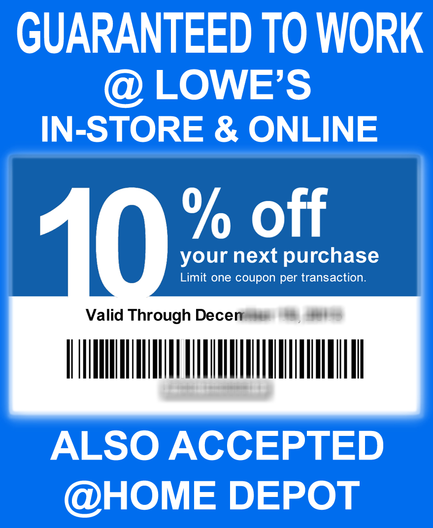 Lowes Coupons 20 / Wcco Dining Out Deals - Lowes Coupons 20 Free Printable