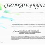 Luxury Free Baptism Certificate Template Word | Best Of Template   Free Online Printable Baptism Certificates