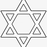 Magen David Png, Jewish Star Png Image With Transparent   Star Of   Star Of David Template Free Printable