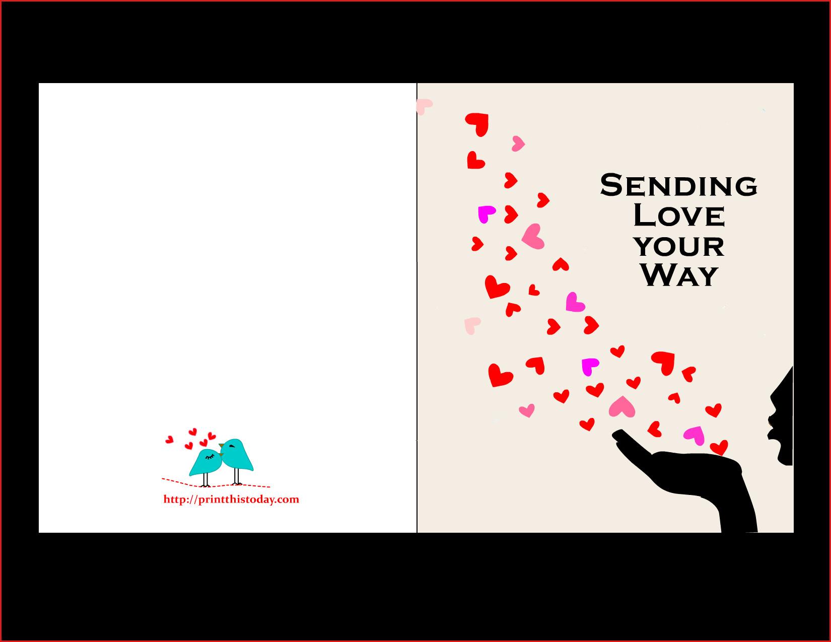 Make A Printable Birthday Card Happy Birthday Card Free Printable - Free Printable Love Greeting Cards