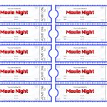 Make Your Own Movie Night Tickets – Sheknows   Make Your Own Tickets Free Printable