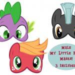 Male My Little Pony Masks 3   Etsy   Free My Little Pony Printable Masks