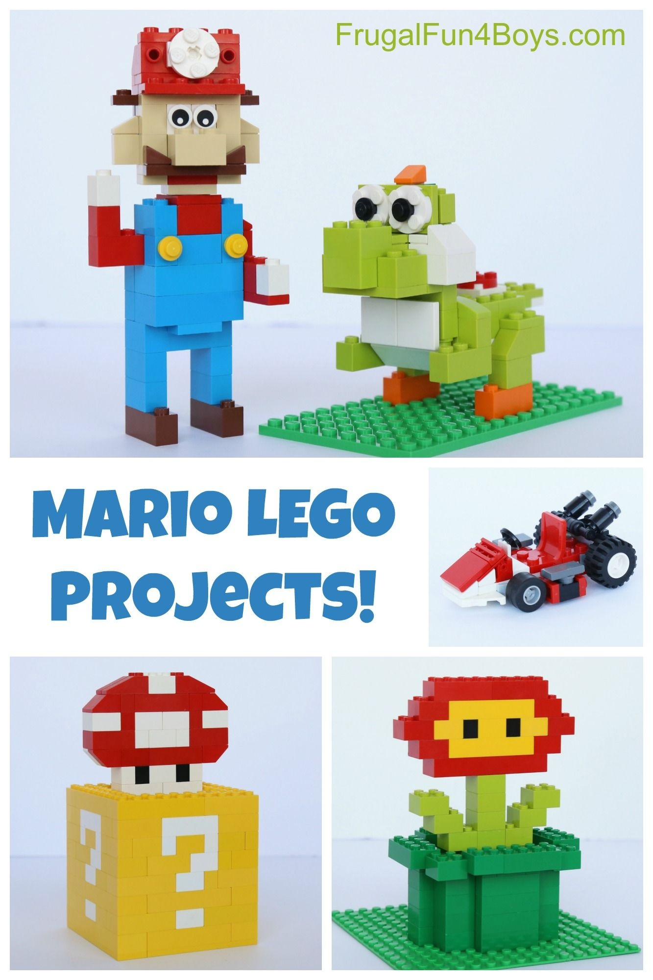 Mario Lego Projects With Building Instructions | Frugal Fun For Boys - Free Printable Lego Instructions