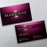 Mary Kay Business Cards In 2019 | Pink Dreams | Mary Kay, Free   Free Printable Mary Kay Business Cards