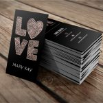 Mary Kay Business Cards | Mary Kay Business Cards | Mary Kay, Mary   Free Printable Mary Kay Business Cards