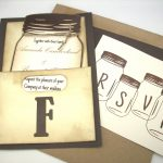 Mason Jar Invitations Template Acelink Pertaining To Mason Jar   Free Mason Jar Wedding Invitation Printable Templates