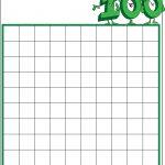 Math : Blank Hundreds Chart Blank Hundreds Chart To 50. Blank   Free Printable Hundreds Chart To 120