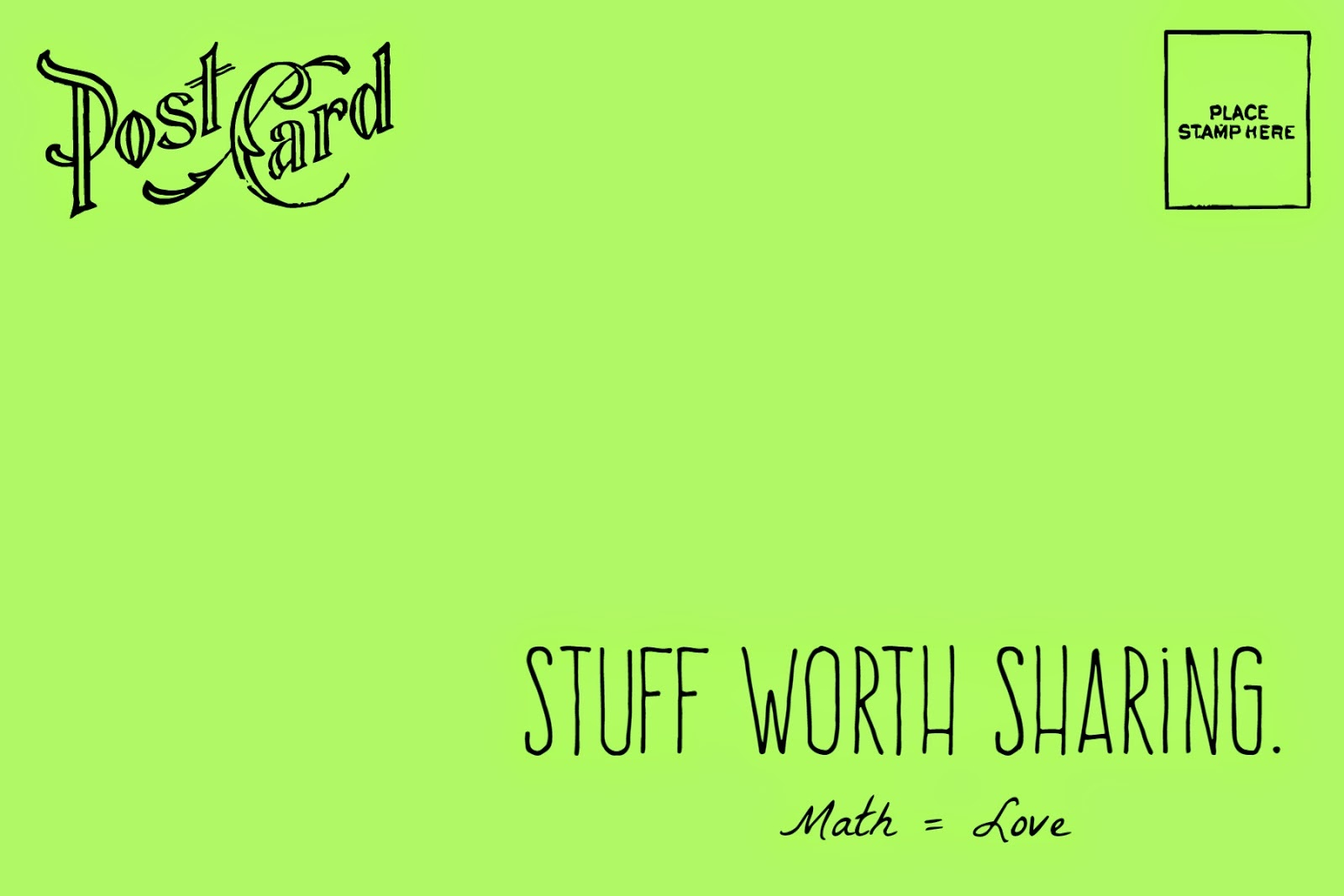 Math = Love: Stuff Worth Sharing: Printable Flash Card Maker (+ Free - Free Printable Flash Card Maker