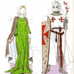 Medieval Period 1200   1350 | Costumestom Tierney | Paper Dolls   Medieval Paper Dolls Free Printable