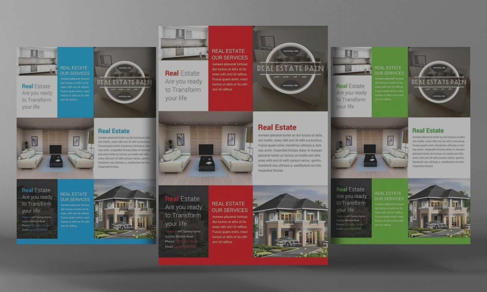Microsoft Word Real Estate Flyer Template Free Elegant Microsoft - Free Printable Real Estate Flyer Templates