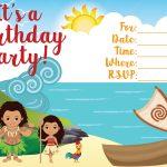 Moana Invitation   Free Printable Moana Birthday Invitations   Viva   Free Printable Moana Invitations