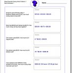 Money Word Problems Worksheet Mixed Operation! Mixed Operation Money   Free Printable Money Word Problems Worksheets