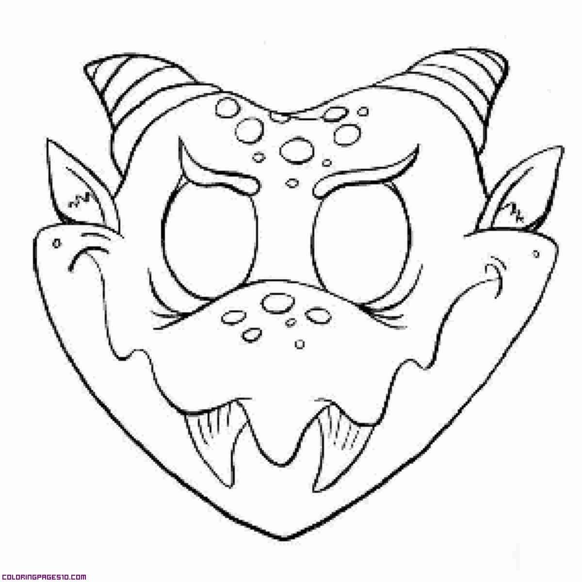 Monster Mask | Monsters | Halloween Masks, Monster Mask, Printable - Free Printable Halloween Face Masks