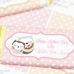 Mother's Day Candy Bar Wrapper Free Printable   Free Candy Wrapper Printable