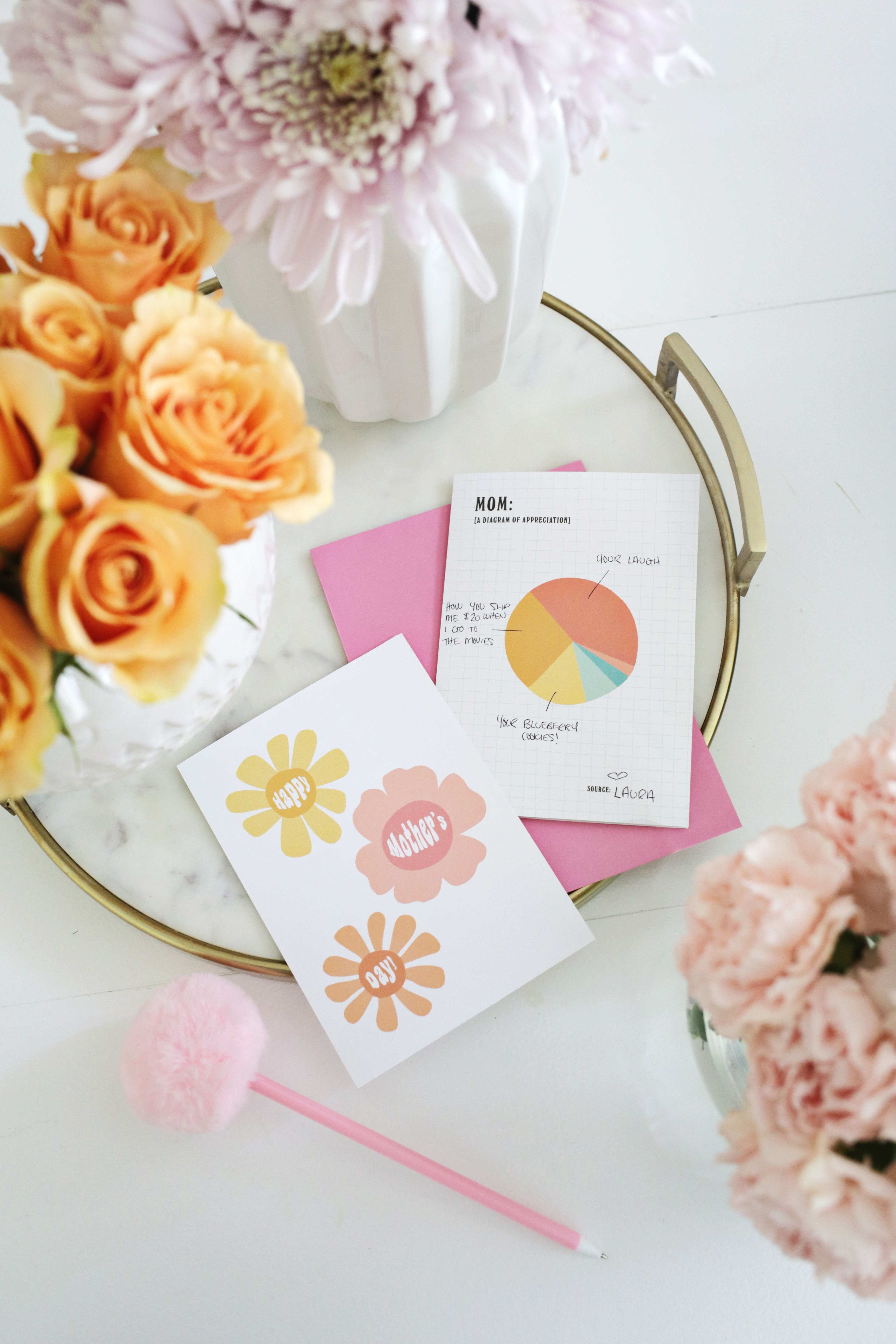 Mother's Day Card Printables (They're Free!) - A Beautiful Mess - Free Printable Mothers Day Cards Blue Mountain