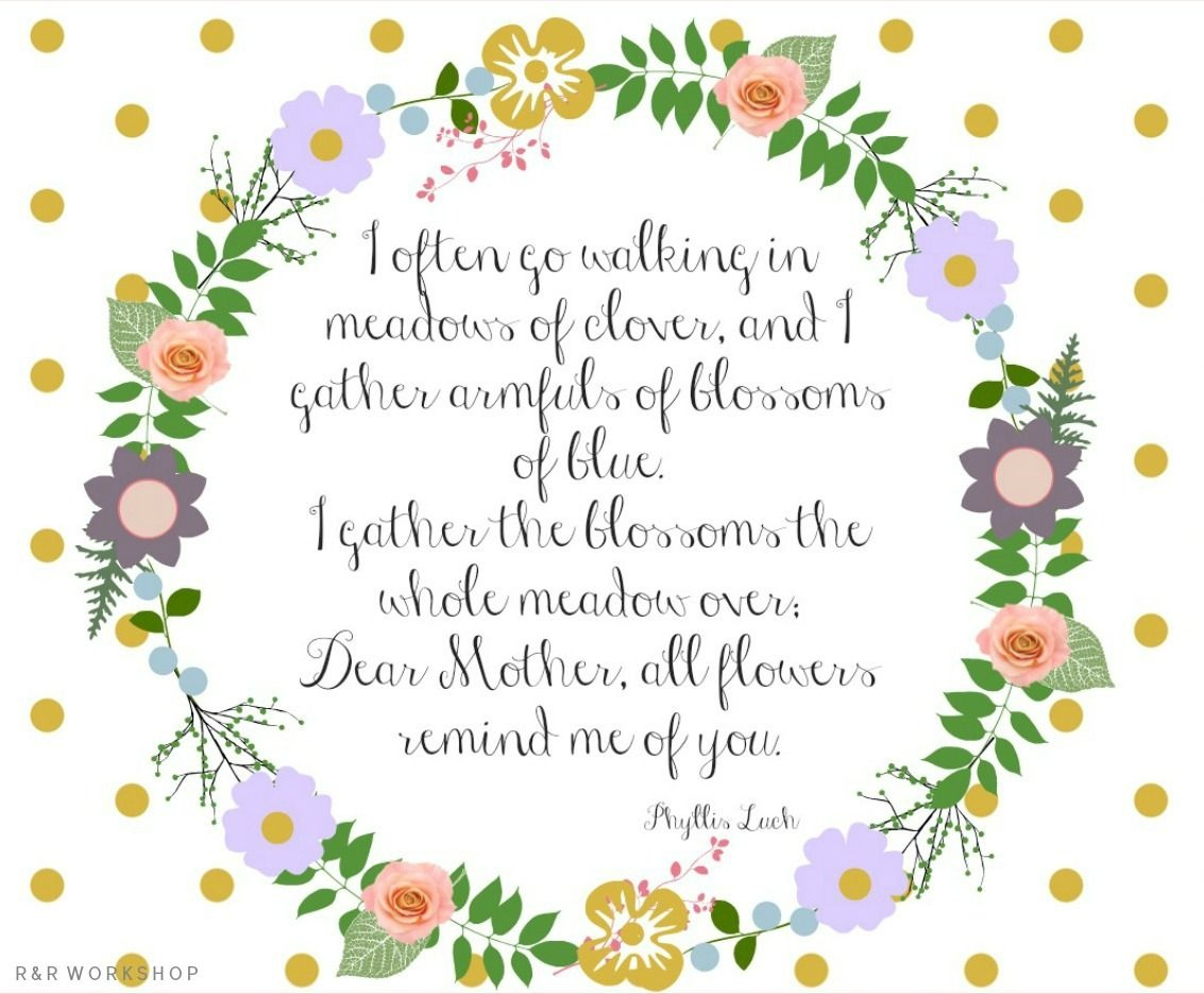 Mother's Day Poem And Free Printables | Make N Take | Mothers Day - Free Printable Mothers Day Poems