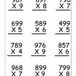 Multiplication Worksheets For 5Th Grade | Worksheetfun   Free   Free Printable Multiplication Worksheets For 4Th Grade