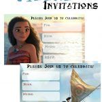 Musings Of An Average Mom: Free Printable Moana Invitations 2   Free Printable Moana Invitations
