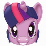 My Little Pony Free Printable Masks.   Possible For Gift Bags   Free My Little Pony Printable Masks