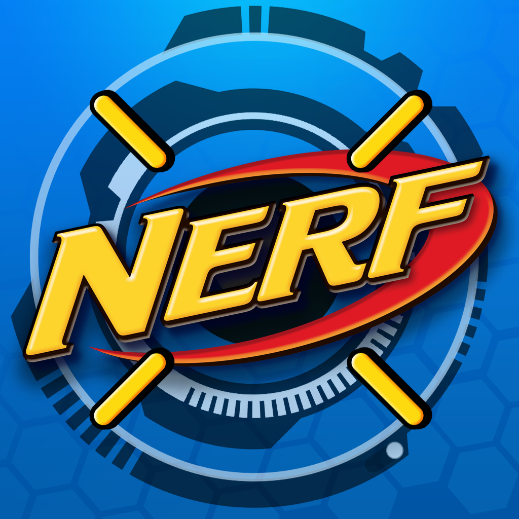 Nerf Symbol | Nerf Mission Ap P Ios / Games | Nerf Party In 2019 - Free Printable Nerf Logo
