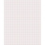New 2015 09 17! 0.5 Cm Graph Paper With Red Lines (A4 Size) Math   Free Printable Graph Paper 1 4 Inch